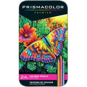 Lápices de Colores Prismacolor - Soft Core - Set de 24
