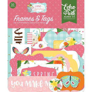 Frames & Tags - I Love Spring