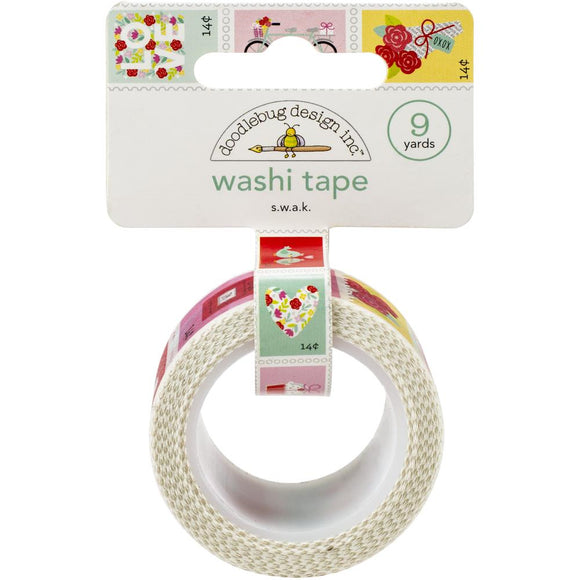 Washi Tape - S.W.A.K. - Love Notes - Doodlebug