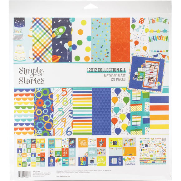 Collection Kit 12x12 - Birthday Blast - Simple Stories
