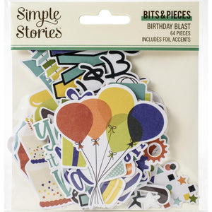 Ephemera Bits & Pieces - Birthday Blast - Simple Stories