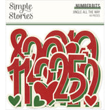 Números Bits - Jingle All The Way - Simple Stories