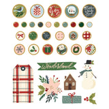 Brads Decorativos - Winter Cottage - Simple Stories