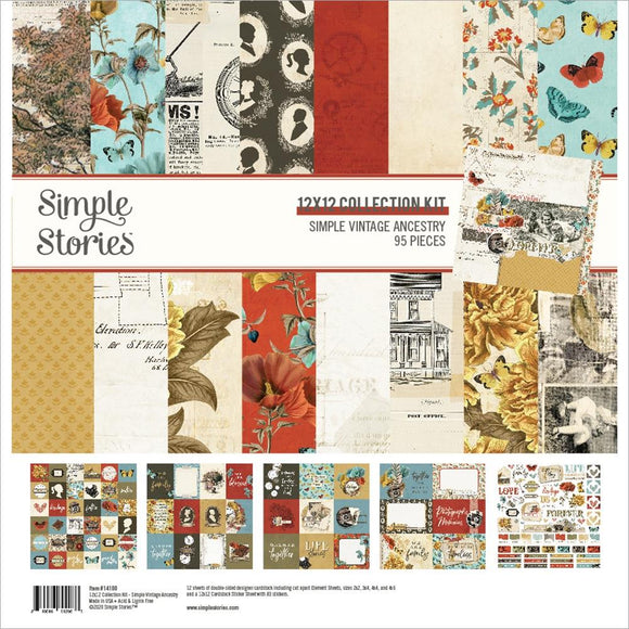 Collection Kit 12x12 - Simple Vintage Ancestry - Simple Stories