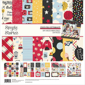 Collection Kit 12x12 - Say Cheese Main Street - Simple Stories