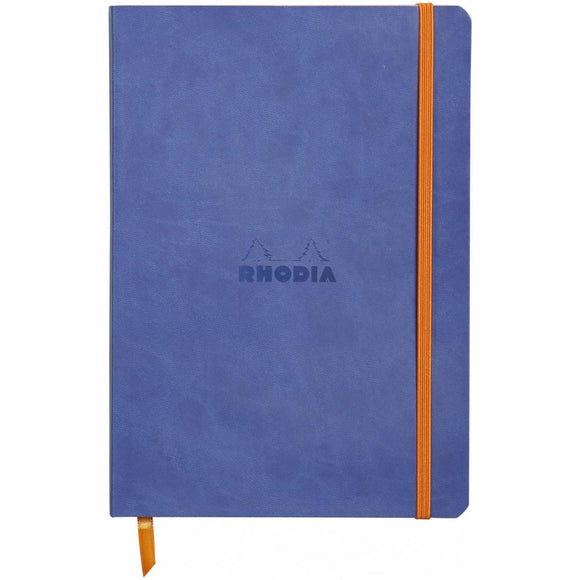 Rhodia Softcover Notebook - Dot Grid - Azul