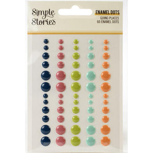 Enamel Dots - Going Places - Simple Stories