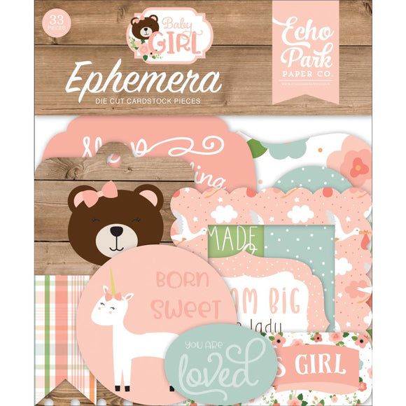 Die Cuts - Baby Girl - Echo Park