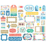Die Cuts - Frame & Tags - Dive into Summer - Echo Park