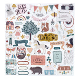 Stickers Chipboard - Magical Forest - Crate Paper