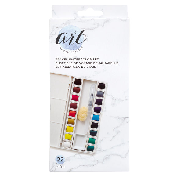 Set de Acuarela de Viaje - Art Supply Basics