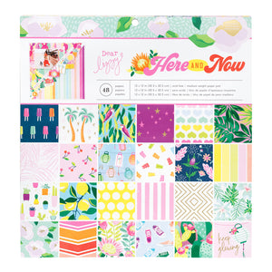Pad de Papeles 12x12 - Here and Now - Dear Lizzy