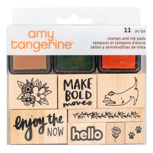 Sellos de Goma - Picnic in the Park - Amy Tangerine