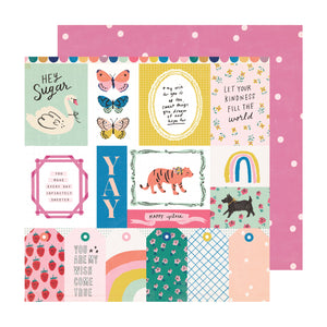 Papel con Diseño 12x12 Individual - Sweet Treat - Sweet Story