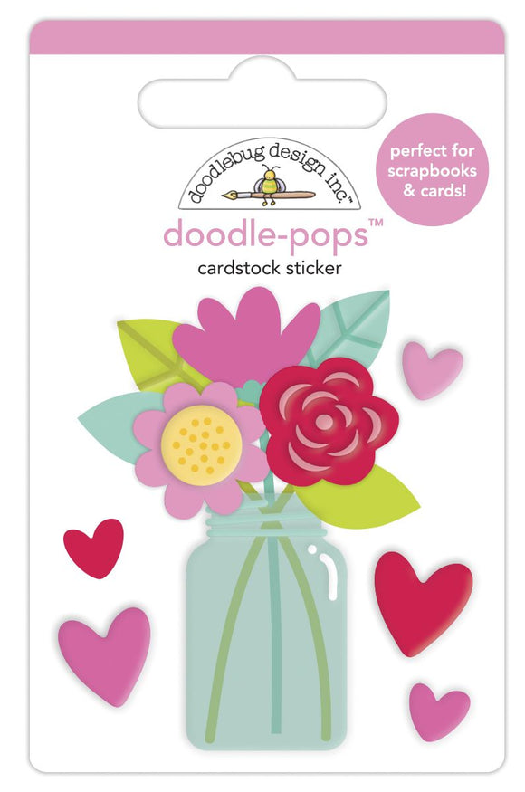 Doodle-Pops - Love You Bunches - Love Notes - Doodlebug