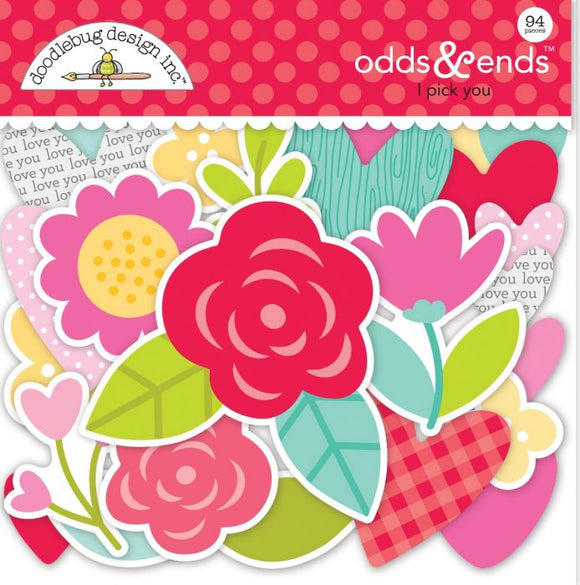 Die Cuts - Odds & Ends - Love Notes - Doodlebug