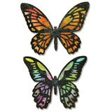 Sizzix Thinlits - Detailed Butterflies - Mariposas