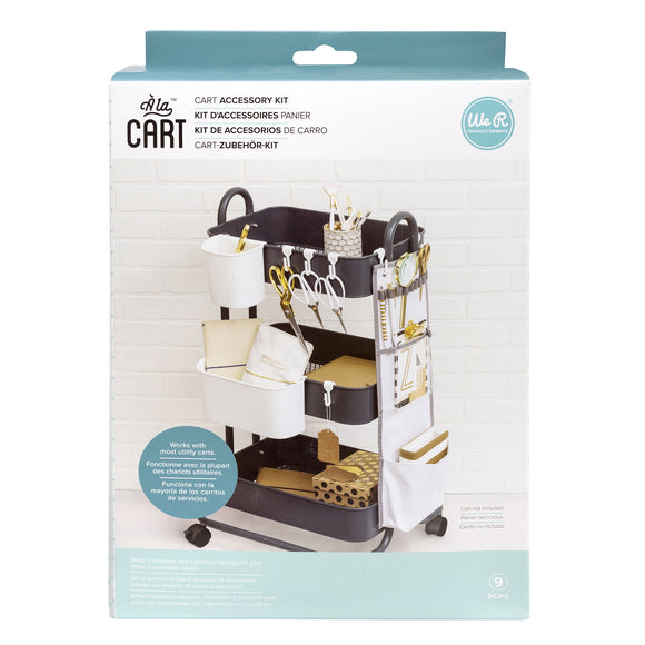 Cart Accessory Kit para Carrito Organizdor - A la Cart - WeR