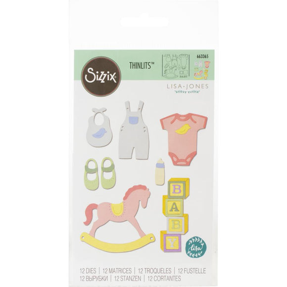 Sizzix Thinlits - New Baby #2