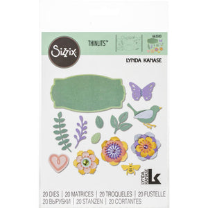 Sizzix Thinlits - Spring Things - Flores