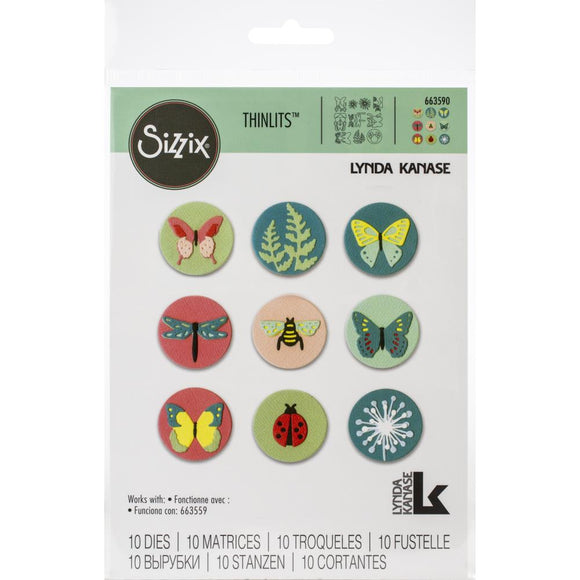 Sizzix Thinlits - Tiny Nature - Naturaleza Minúscula