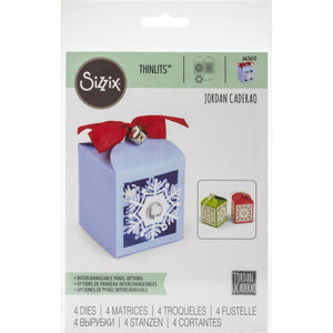 Sizzix Thinlits - Snowflake Favor Box - Caja
