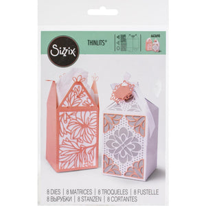 Sizzix Thinlits - Elegant Favor Box - Caja Elegante