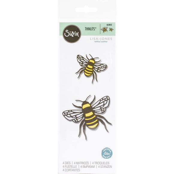 Sizzix Thinlits - Bee - Abeja