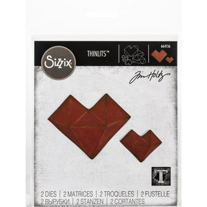Sizzix Thinlits - Faceted Heart