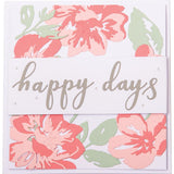 Sizzix Thinlits - Floral Layers - Flores