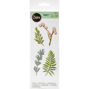 Sizzix Thinlits - Natural Leaves