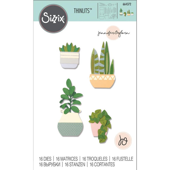Sizzix Thinlits - Dimensional Botanicals