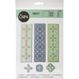 Sizzix Thinlits - Stackable Geometric - Elementos Geométricos