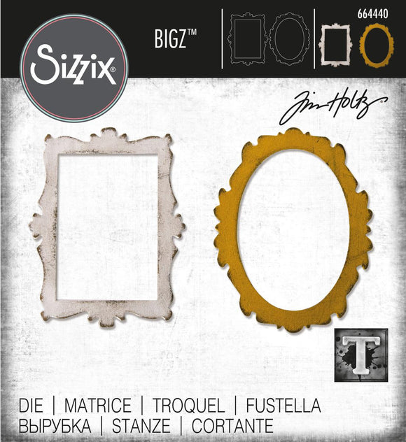 Sizzix Bigz - Decor Frames - Marcos Decorativos