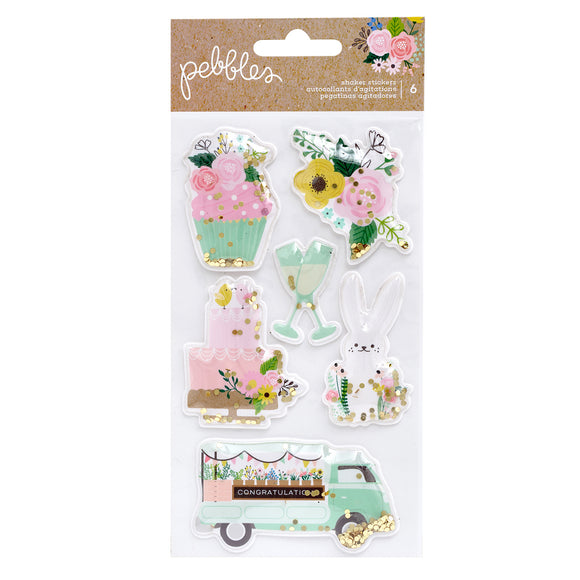 Sticker Shaker - Lovely Moments - Pebbles