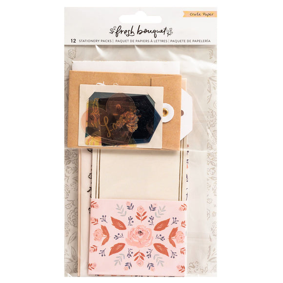 Stationery Pack - Fresh Bouquet - Crate Paper