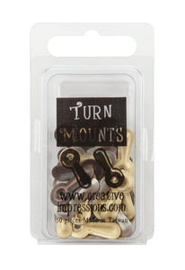 Turn Mounts Antique - Monturas Giratorias