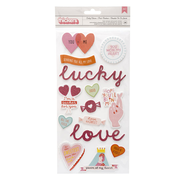 Stickers Thickers 6x12 - Lucky Us