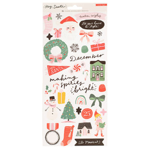 Sticker - Hey Santa - Crate Paper