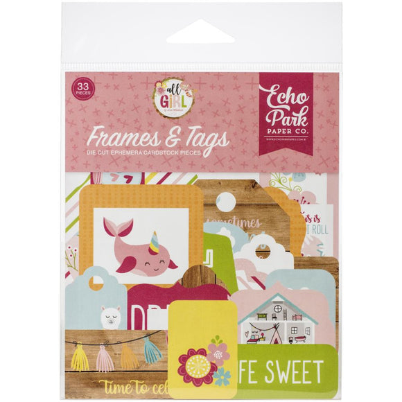 Die Cuts - Frames & Tags - All Girl - Echo Park