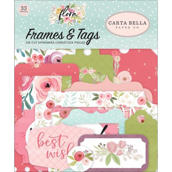 Die Cuts - Frames & Tags - Flora - Carta Bella