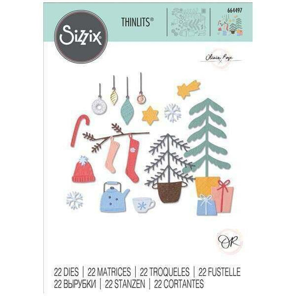 Sizzix Thinlits - Christmas Cheer