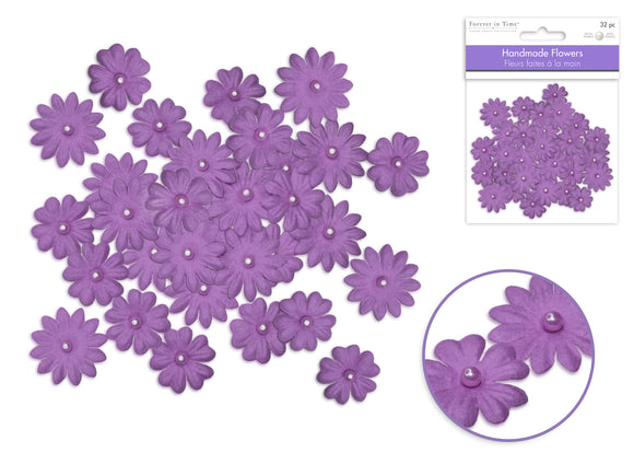 Flores Decorativas - Purple