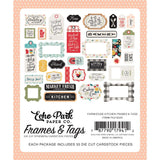 Die Cuts - Frames & Tags - Farmhouse Kitchen - Echo Park