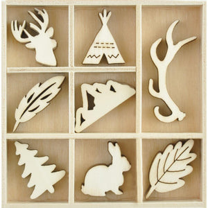 Maderitas Decorativas - Woodlands - Kaisercraft