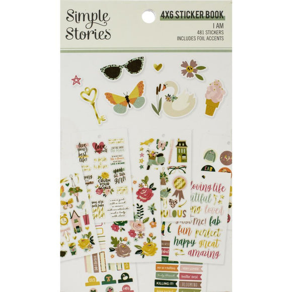 4x6 Sticker Book - I AM