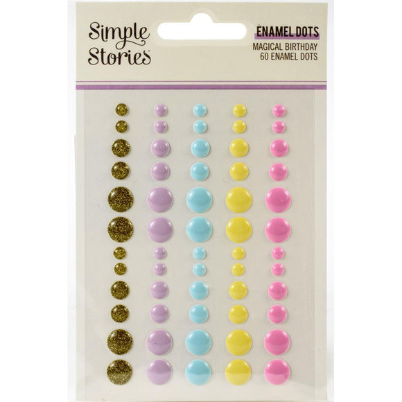 Enamel Dots - Magical Birthday - Simple Stories