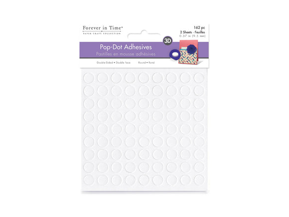 3D Pop Dot Adhesives -  Círculos de Foam Doble Contacto 3/8