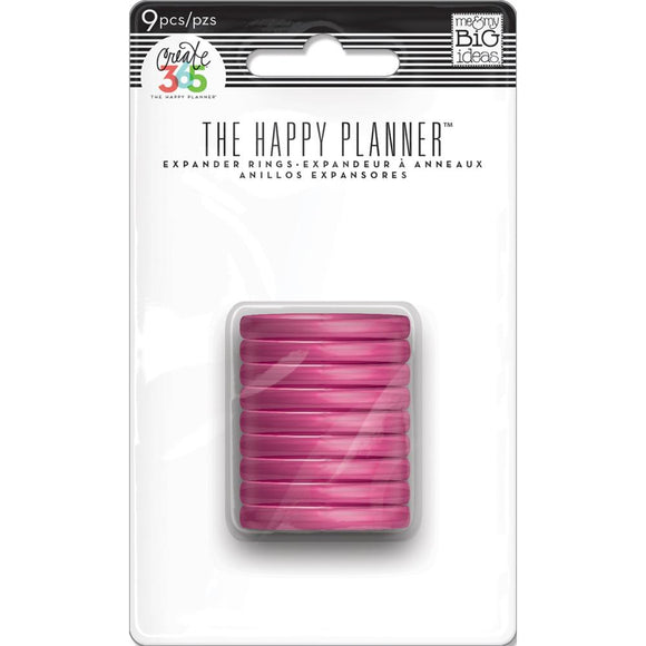 The Happy Planner - Discos Expansores - Pink - 9 piezas de 1.75