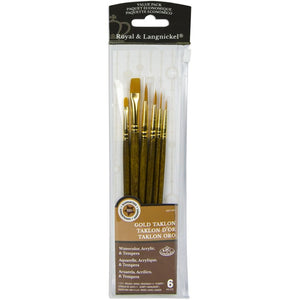 Pinceles - Royal & Langnickel - Value Pack